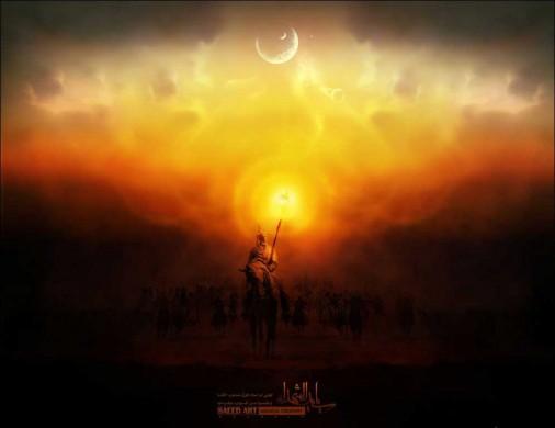 امام و اولین روز ماه محرم در نوفل لوشاتو